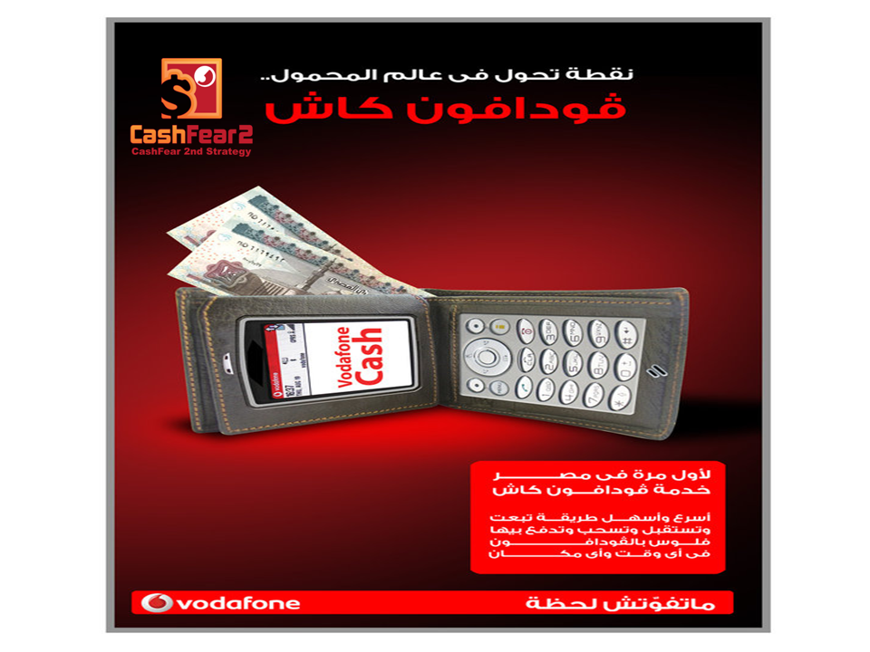 Pay using Egypt Vodafone Cash